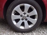 "VAUXHALL INSIGNIA ALLOY WHEEL 17"" IDEAL SPARES FULL SIZE INC TYRE"