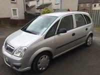 Vauxhall meriva 1.4 twinsport life 10reg fsh only 47000 miles