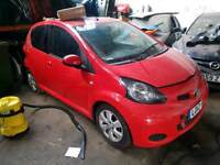 Toyota aygo 12 plate only auto 12k mileage spares repair