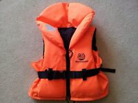 Children's BOUYANCY VEST / JACKET for safe holiday swimming, for kids 20-30kg, excellent condition