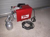 Compressor paint sprayer with Spray gun