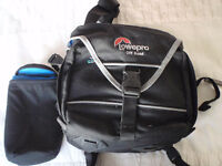 Lowepro Off Road Camera Bag with Lens Case - Black
