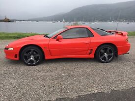 Mitsubishi 3000 gto. Non turbo.4wd.Auto.Mot Aug 2017. Great condition. Lots of old mots and history.