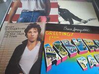 Bruce Springsteen - 4 x Vinyl albums - £8 each