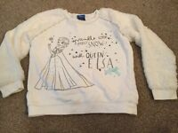 Frozen girls jumper size 7-8 years