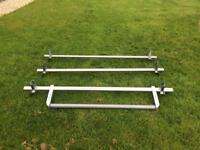 Ford Transit Roof Bars with Rear Roller (fits Low Roof Models)
