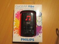 GoGEAR Vibe mp4 player BRAND NEW!