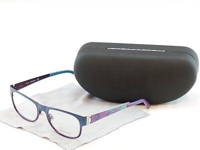 Authentic Diesel Eyeglasses Optical Frame DL5026 092 Blue Violet Metal 52-18-140