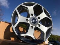 """4 18"""" alloy wheels alloys rims tyre Tyres 5x160 ford transit van"""