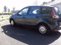 NOV 09 Renault Scenic 1.6 Expression **FULL 1 year MOT**Only 74,000 miles***