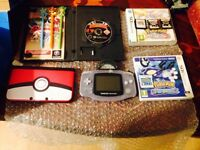 Nintendo 3ds XL with games.