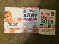 Baby name books