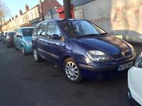 Renault scenic 1.9 dci diesel 2003 - MOT&TAX - drives good - not estate mpv zafira Opel van