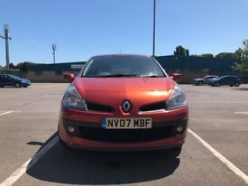 Renault Clio 1.4 16v Dynamique 5dr£2,195 p/x Cheap to run and maintain 2007 (07 reg), 68,000 miles