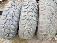 3 x off-road tyres 265/70/R17