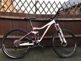 Mondraker factor r full suspension mountain bike will post
