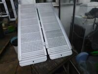 FOLDING PORTABLE MOBILITY RAMP 4ft VERY STURDY COST £160 CAN DELIVER
