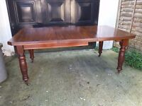 Late victorian dining table