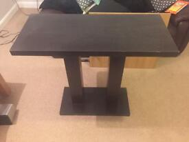 Black Hallway Console Table