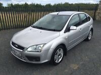 2006 06 FORD FOCUS 1.6 GHIA 115 5 DOOR HATCHBACK - *FEBRUARY 2017 M.O.T* - CHEAP EXAMPLE!