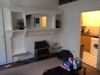 Tidy spacious studio flat in central Carlisle; furnished. And one bedroom flat, also furnished