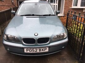 BMW spares or repair. Needs radiator. Great car, everything else is working. MOT'd Nov 18. SORN'd