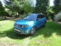 Suzuki Vitara SZ5(Urban pack) 5door, manual petrol, reg 30/6/2015