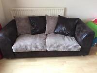 1x 3 seater sofa 1x 2 seater sofa