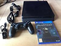Latest PS4 slim with injustice 2 receipt and warranty