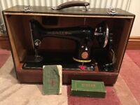 Singer 201k hand crank 2gr sewing machine