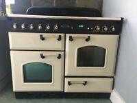 Leisure Gas Range Cooker CREAM colour 110cm width