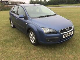 Ford Focus 1.6 zetec - 2005 - MOT April 2019 - bargain