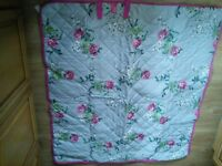 """""""Joules"""" roll up waterproof picnic blanket with carry handle. Brand new"""