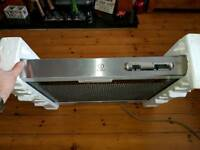 Brand new Indesit brushed steel extractor hood 60cm wide