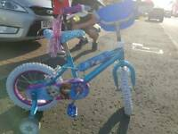 Girls Disney princess Elsa bike