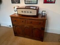 REDUCED!! For Sale: A unique Antique Solid Oak Vintage Sideboard in Excellent Condition