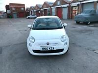 Fiat 500 white 1.2 Petrol low mileage IMmaculate Condition