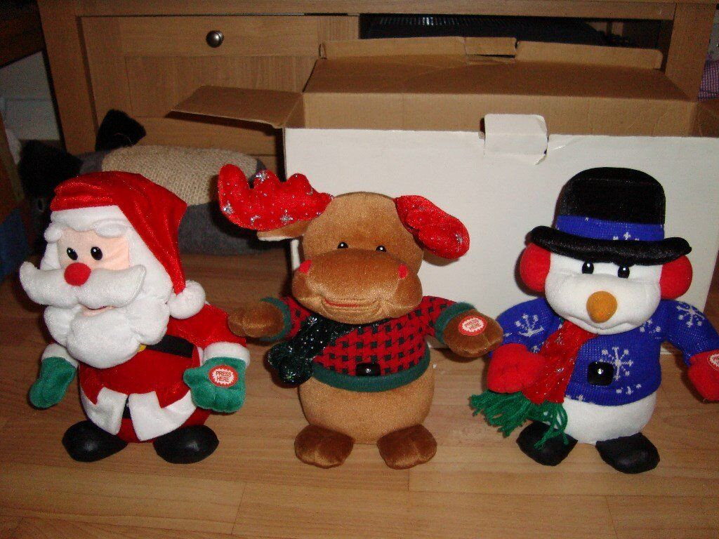 dancing and singing christmas toys - Singing Christmas Toys