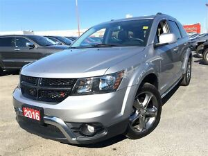 2016 Dodge Journey CROSSROAD**7 PASSENGER**8.4 TOUCHSCREEN**SUNR