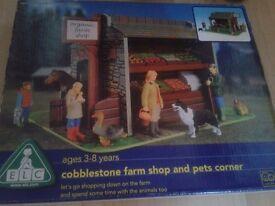 ELC Cobblestone farmshop and pets corner