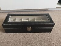 Watch box / cabinet for 6 watches