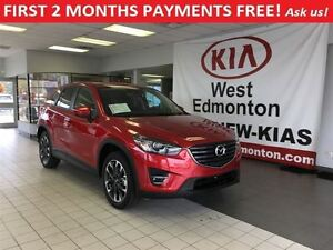 2016 Mazda CX-5 GT AWD 2.5L Auto, FIRST 2 MONTHS PAYMENTS FREE!!