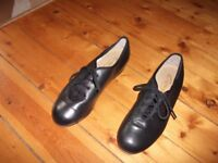 Black Tap Shoes, in good condition.