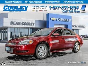 2013 Chevrolet Impala LT FWD/ONE OWNER/CLAIMS FREE/WARRANTY REMA
