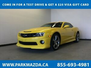 2011 Chevrolet Camaro SS RWD - Bluetooth, Sunroof, A/C, Alloy Wh