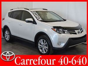 2015 Toyota RAV4 Limited AWD Cuir+Navigation+Camera+Bluetooth+To