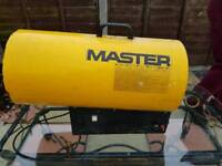Master space heater