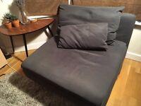 Like New Grey 1-2 seater sofa Ikea