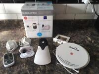 Motorola baby monitor and sensor pads