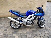 Motorbike Suzuki SV 650 S K3 2003